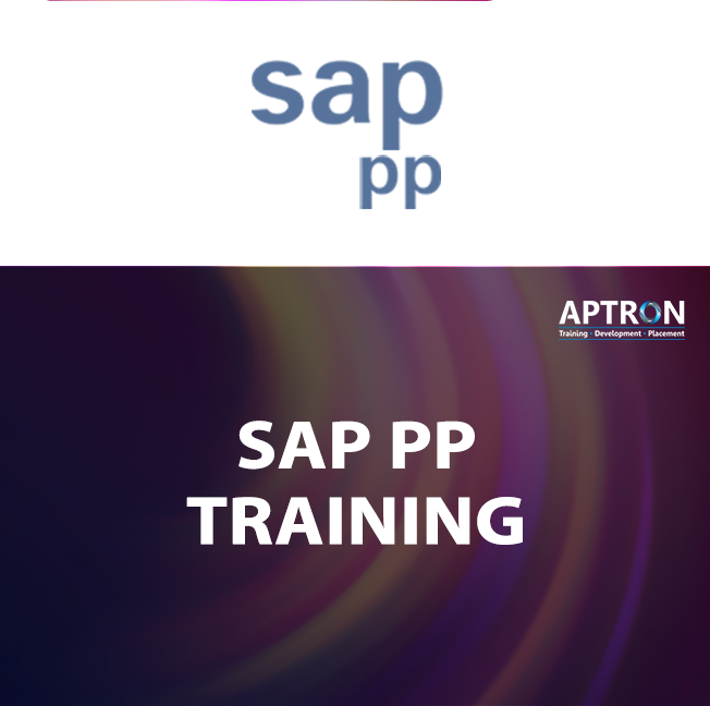 ERP SAP PP training in noida
