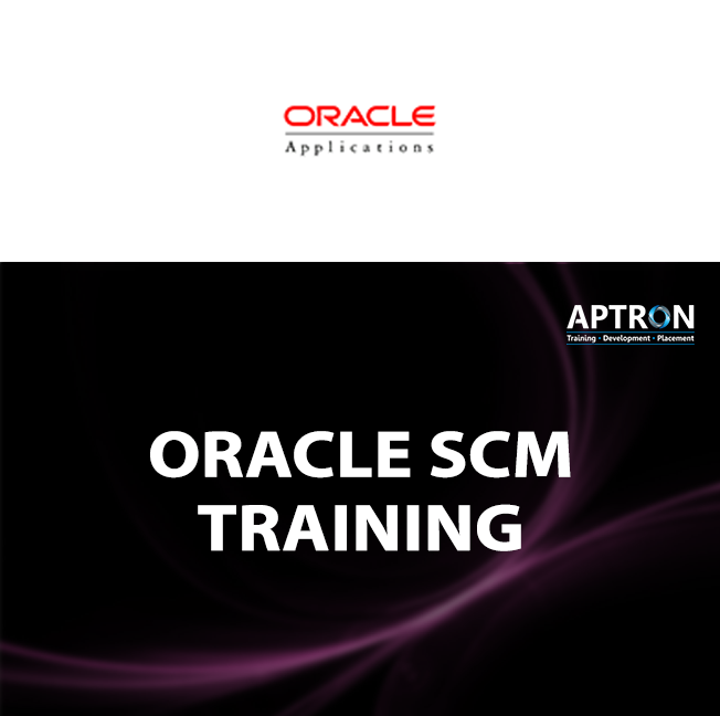 Oracle Apps SCM training in noida