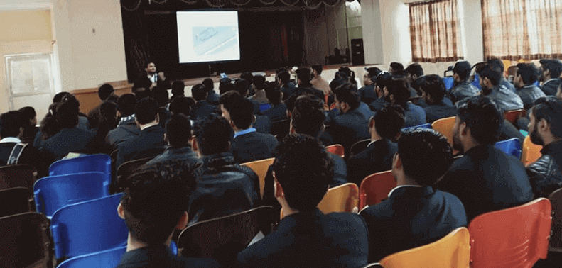 Data Science Seminar at Shaheed Rajguru College Delhi